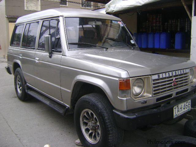 Used Mitsubishi SUV | 1992 SUV for sale | Las Pinas City ...