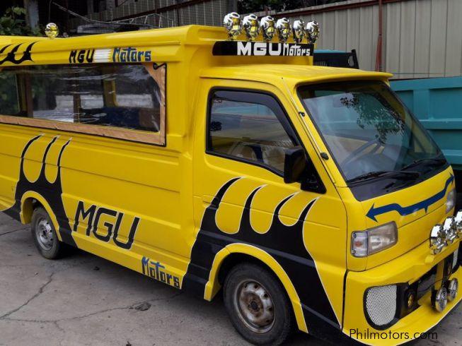 Gas Station Near My Location >> Used Suzuki Multicab Scrum Passenger Jeepney 4x2 Yellow ...