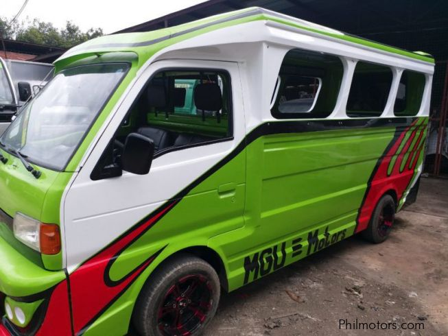 Suzuki Multicab Scrum Side door Passenger Jeepney  4x2 Green in Philippines