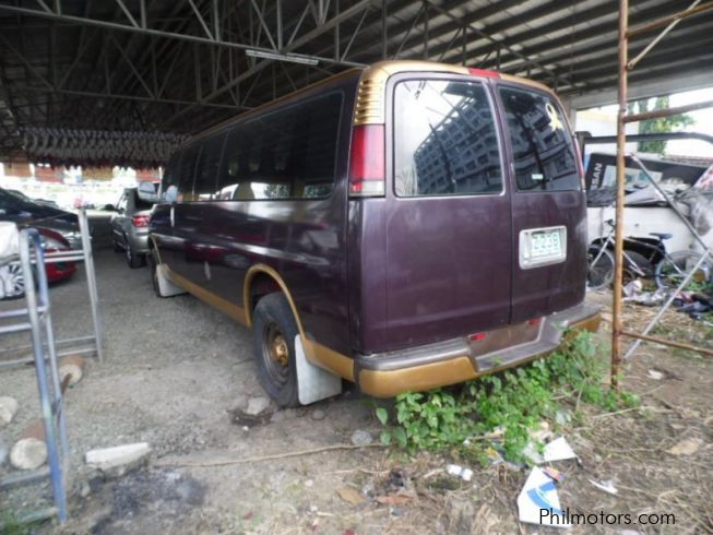 Used Chevrolet Savana 1998 Savana For Sale Cavite