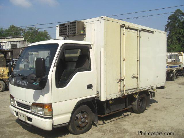 Used Isuzu Elf Giga Reefer Van, 11 Feet 4HF1-Engine   1998 ...