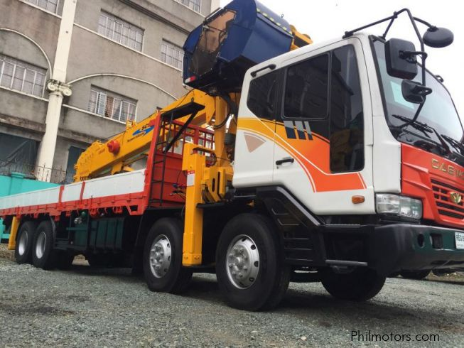 Used Daewoo Ultra Novus Boom Truck | 2000 Ultra Novus Boom ...
