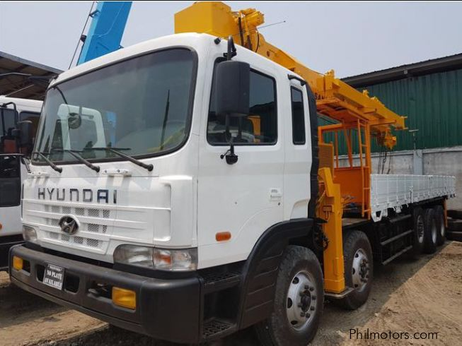 Hyundai Boom Truck 17 Tons Crane Capacity in Philippines