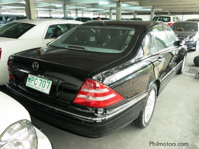 Used mercedes benz s320 2000 s320 for sale makati city for Mercedes benz s320 price
