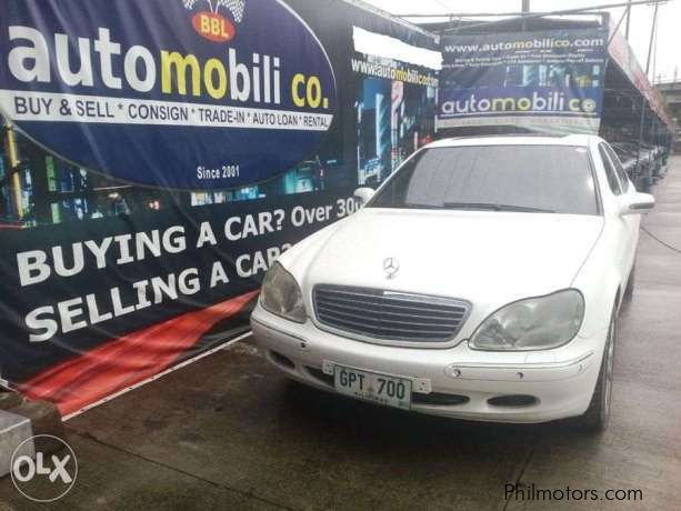 Used mercedes benz s500 2001 s500 for sale paranaque for 2001 mercedes benz s500 for sale