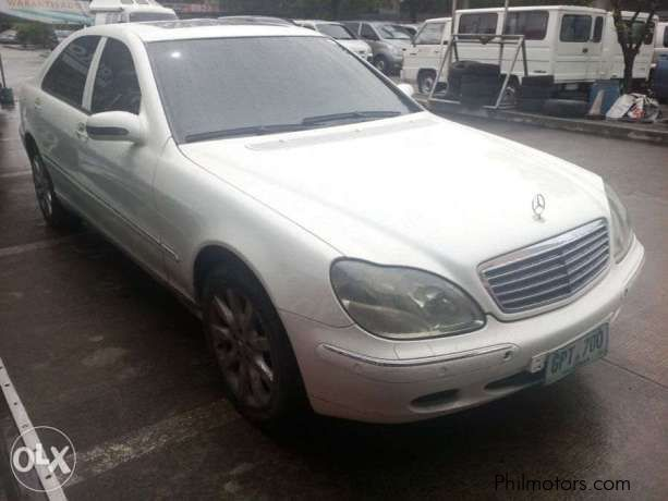 Used Mercedes Benz S500 2001 S500 For Sale Paranaque