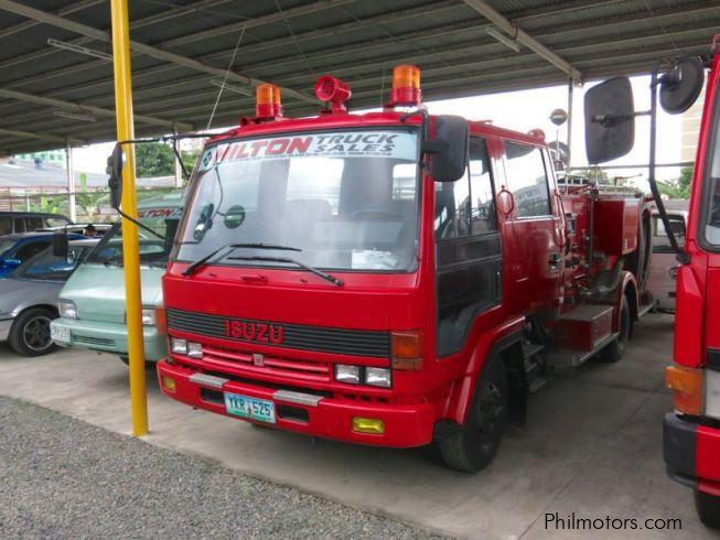 Used Cars Philippines >> Used Isuzu Fire Truck   2002 Fire Truck for sale   Cebu