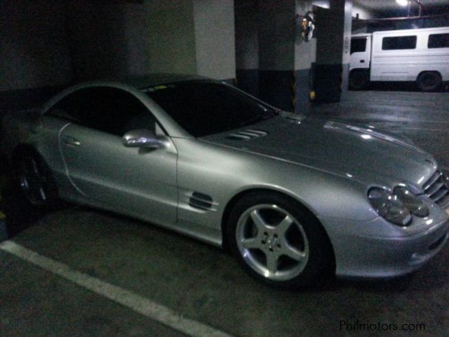 Used mercedes benz sl500 2002 sl500 for sale makati for Used mercedes benz sl500 for sale