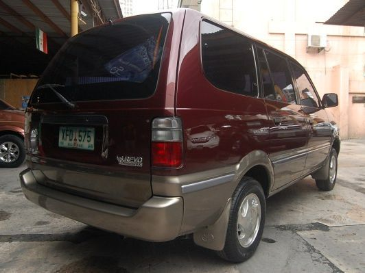 Used Toyota Revo Tamaraw Fx 2002 Revo Tamaraw Fx For