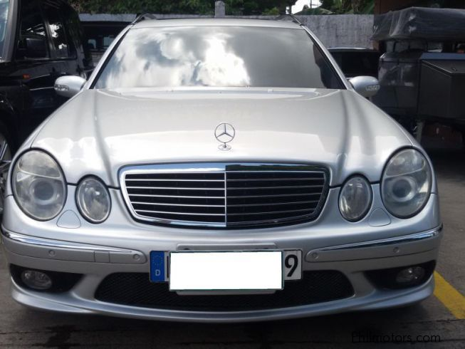 Used mercedes benz e55 amg wagon 2003 e55 amg wagon for for Mercedes benz e350 wagon for sale