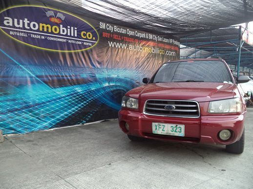 Used subaru forester 2003 forester for sale paranaque for Used subaru motors for sale