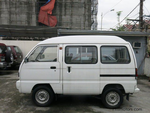 Suzuki Mini Van Specification