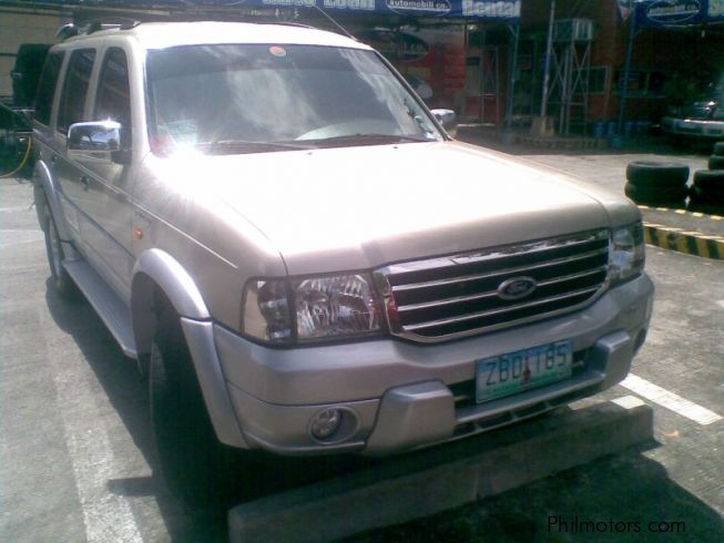 Used ford everest 4x4 a t diesel 2005 everest 4x4 a t for Used ford motors sale