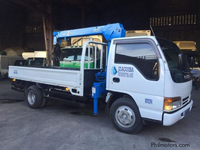 Used Isuzu Boom truck | 2005 Boom truck for sale | Quezon City Isuzu Boom truck sales | Isuzu ...
