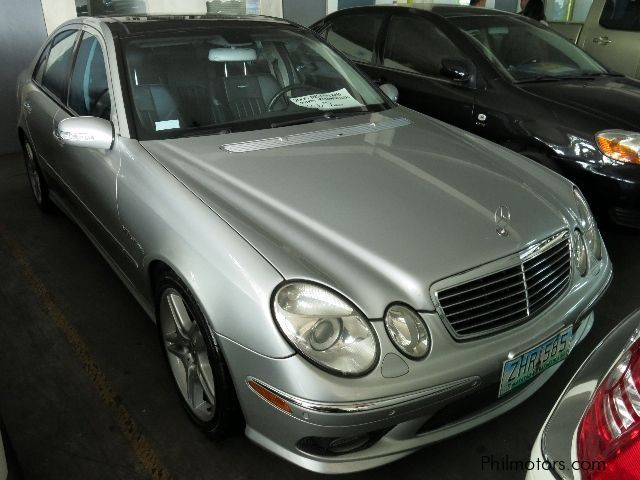 used mercedes benz e55 amg 2005 e55 amg for sale makati city mercedes benz e55 amg sales. Black Bedroom Furniture Sets. Home Design Ideas