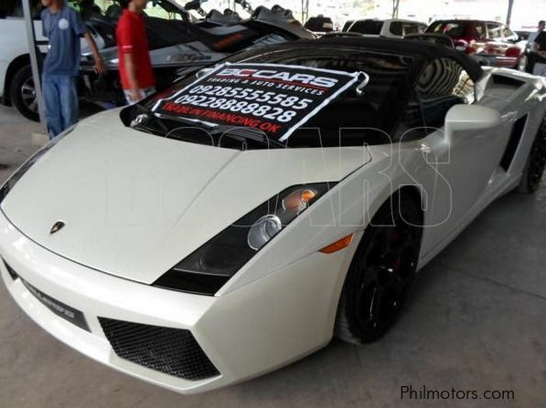 used lamborghini gallardo 2006 gallardo for sale pasig. Black Bedroom Furniture Sets. Home Design Ideas