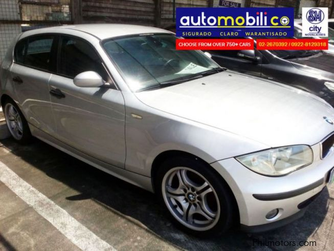 used bmw 116i 2007 116i for sale paranaque city bmw. Black Bedroom Furniture Sets. Home Design Ideas