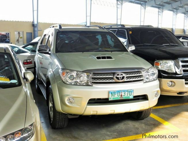 Used Toyota Fortuner 2009 Fortuner For Sale Pasig City Toyota Fortuner Sales Toyota