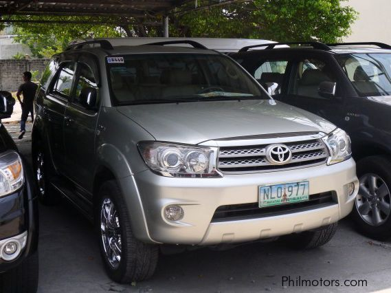 Used Toyota Fortuner 2009 Fortuner For Sale Pasay City
