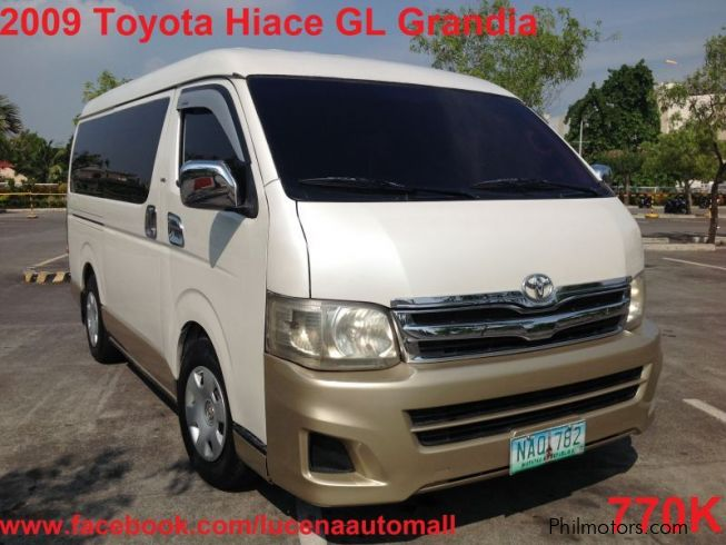 Rj Auto Sales >> Used Toyota Hiace GL Grandia Van Lucena City | 2009 Hiace ...