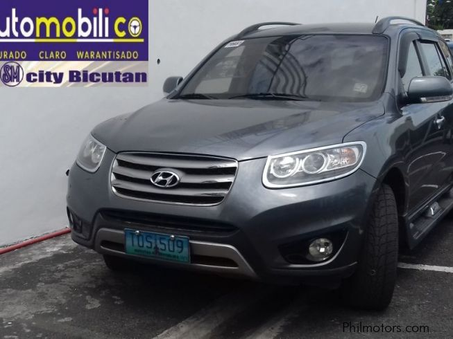 used hyundai santa fe 2012 santa fe for sale paranaque city hyundai santa fe sales hyundai. Black Bedroom Furniture Sets. Home Design Ideas