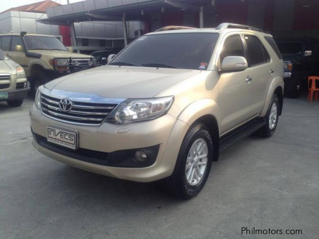 Used Toyota Fortuner G 2012 Fortuner G For Sale