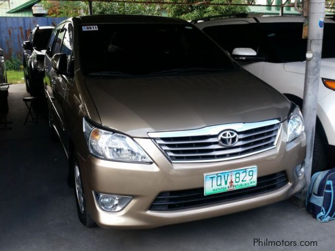 Used Toyota Innova G 2012 Innova G For Sale Pasay City