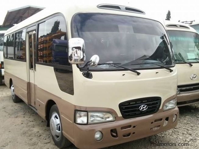 Used Hyundai county bus | 2014 county bus for sale | Cavite Hyundai county bus sales | Hyundai ...