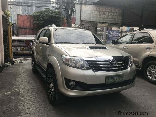 Used Toyota Fortuner G 2014 Fortuner G For Sale Makati