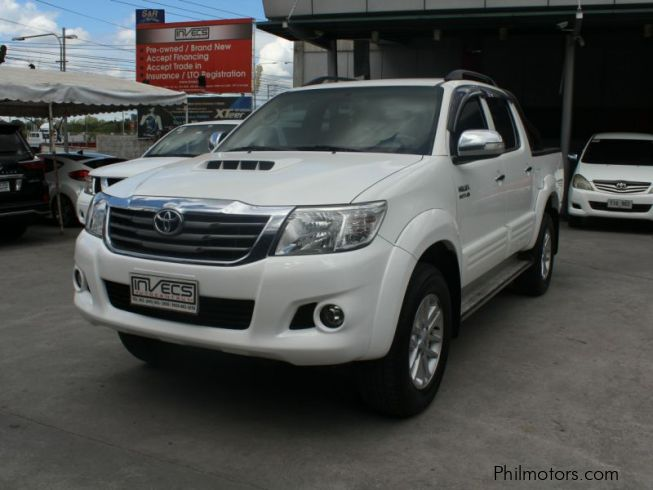 Used Toyota Hilux | 2014 Hilux for sale | Pampanga Toyota ...