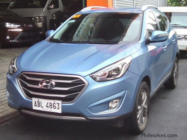 used hyundai hyundai tucson gls 2 0 automatic gas 2015. Black Bedroom Furniture Sets. Home Design Ideas