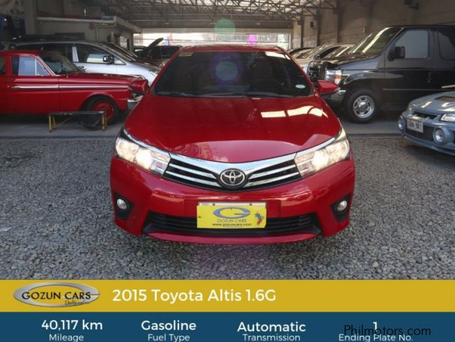 Toyota Corolla Altis 1.6G in Philippines