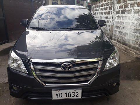 Used Toyota Innova G | 2015 Innova G for sale | Quezon ...