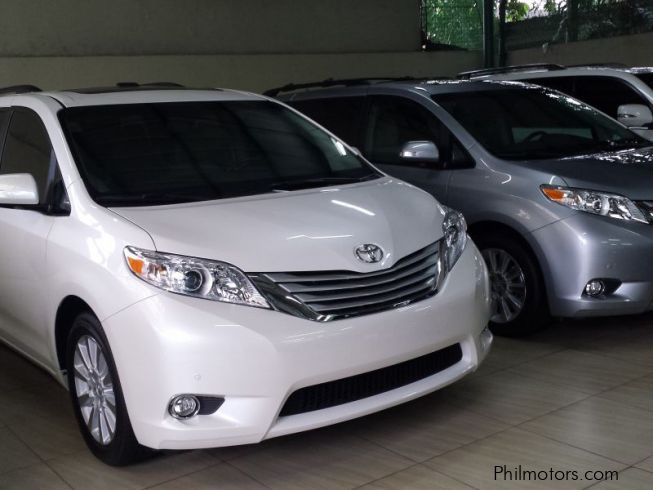 new toyota sienna 2015 sienna for sale quezon city. Black Bedroom Furniture Sets. Home Design Ideas
