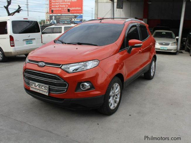 used ford ecosport titanium 2016 ecosport titanium for sale pampanga ford ecosport titanium. Black Bedroom Furniture Sets. Home Design Ideas