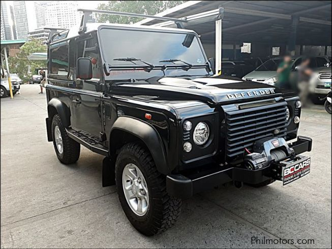 Land Rover defender in Philippines