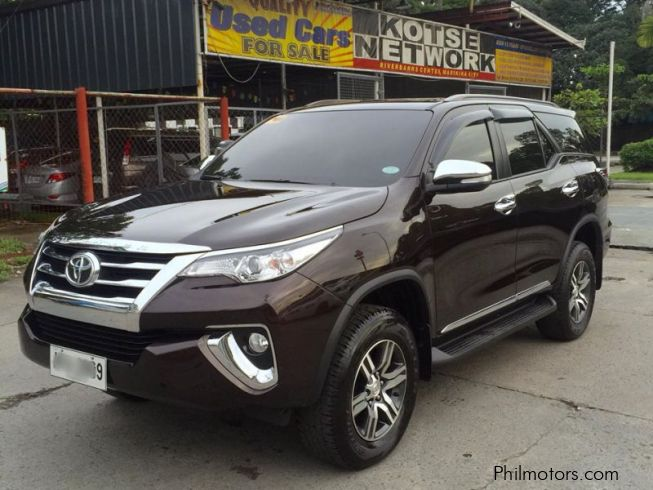 Used Toyota Fortuner | 2016 Fortuner for sale | Marikina City Toyota Fortuner sales | Toyota ...