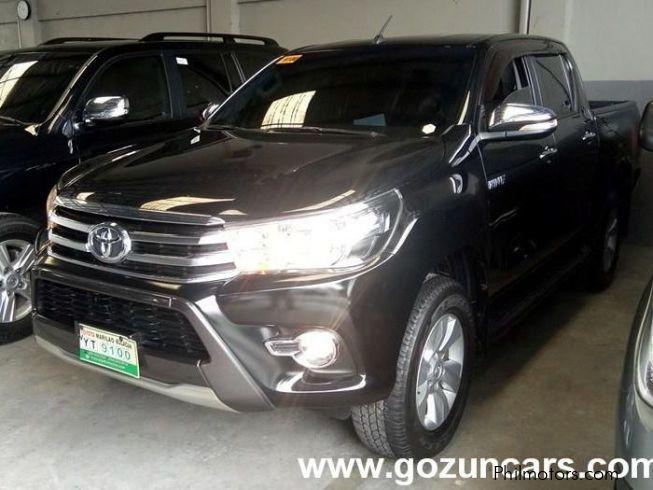 2016 Toyota Hilux - philippines, specs, price, sr5, redesign