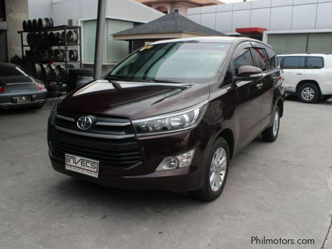 Used Toyota Innova E 2016 Innova E For Sale Pampanga