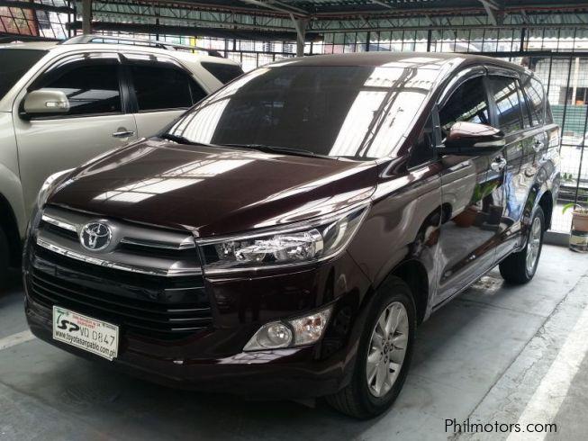 Used Toyota Innova E 2017 Innova E For Sale Makati