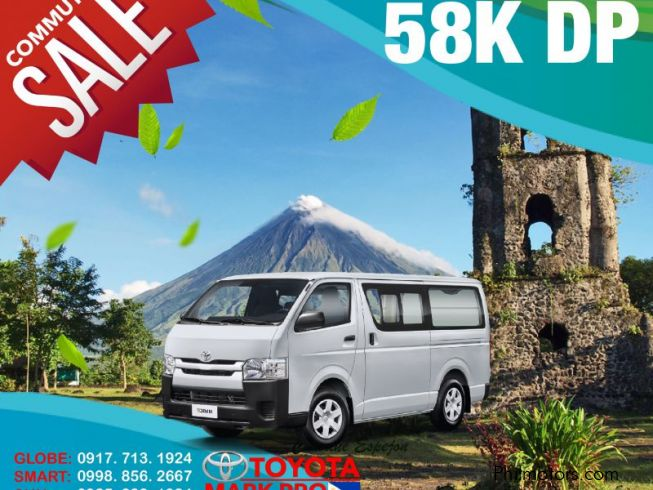 new toyota hiace commuter old face brand new super sale