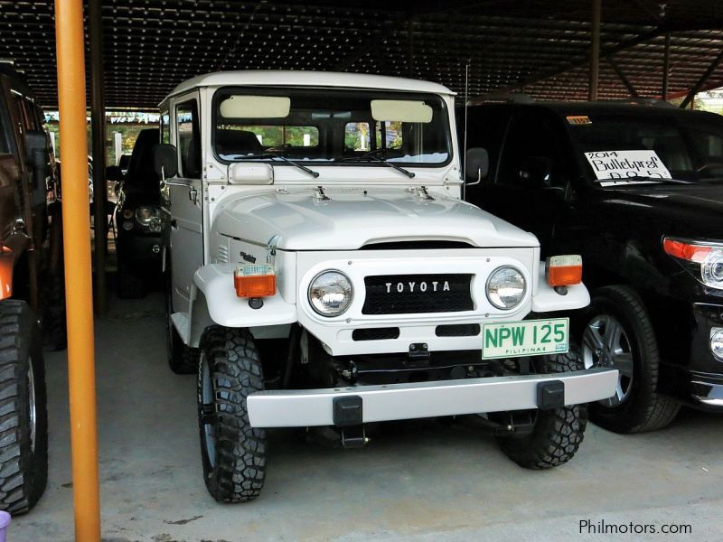 Used Toyota Land Cruiser Fj40 1978 Land Cruiser Fj40 For Sale Pasig City Toyota Land Cruiser