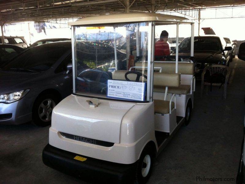 Used Other Hitachi ELectric GOlf Cart | 1990 Hitachi ELectric GOlf on dewalt golf cart, komatsu golf cart, westinghouse electric golf cart, case golf cart, orion golf cart, yanmar golf cart, champion golf cart, apple golf cart, prisma golf cart, crosley golf cart, deere golf cart, japan golf cart, nasa golf cart, bobcat golf cart, razor golf cart, pyle golf cart, line x golf cart, buffalo golf cart, generic golf cart, galaxy golf cart,