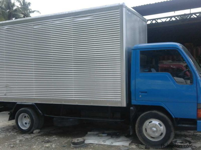 216a10c5941af9 ... Mitsubishi Canter Delivery Aluminum Closed Van 4D32 Double Tires in  Philippines ...