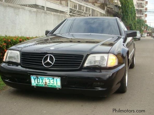 Used mercedes benz sl 500 1993 sl 500 for sale cebu for Mercedes benz sl550 for sale used