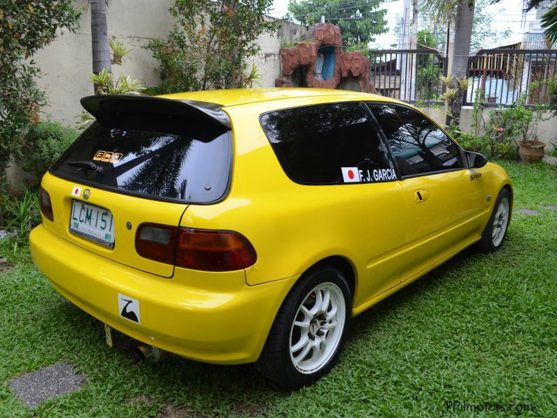 Honda Civic Hatchback Eg6 1994 In Philippines ...