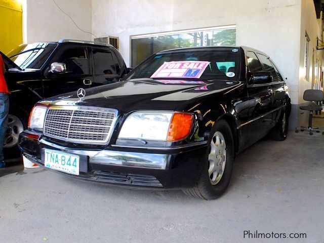Used Mercedes-Benz S600 Bullet proof | 1994 S600 Bullet proof for sale | Pampanga Mercedes-Benz