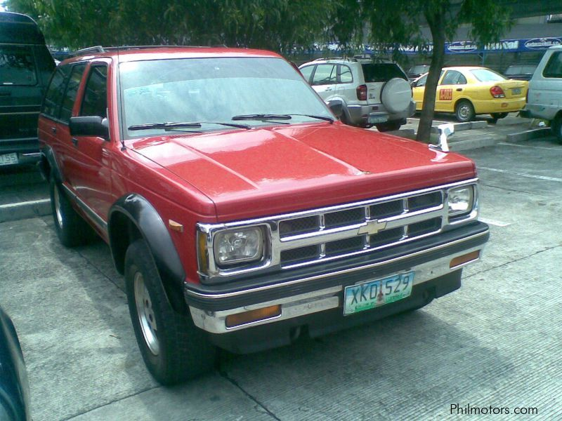1995 Chevrolet Blazer Car Photos Automatic Transmissions 55000 Km Milage