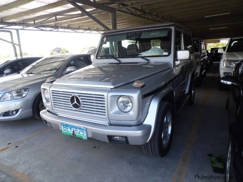 Used mercedes benz g320 1996 g320 for sale muntinlupa for Mercedes benz philippines