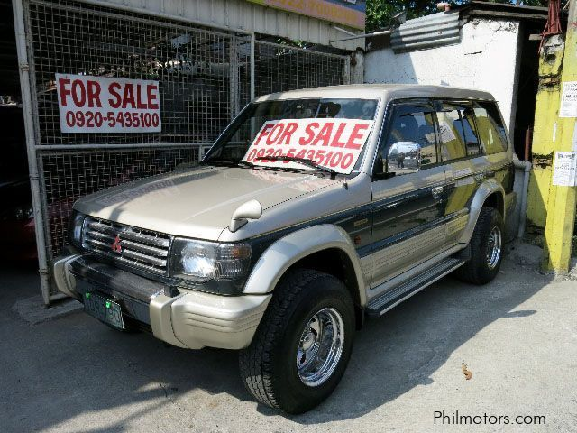 Mitsubishi pajero exceed diesel for sale